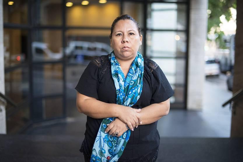 Madre de Álvaro Conrado: «Le prometí a mi hijo llegar hasta la últimas consecuencias buscando justicia» Foto: Santiago Mazzarovich