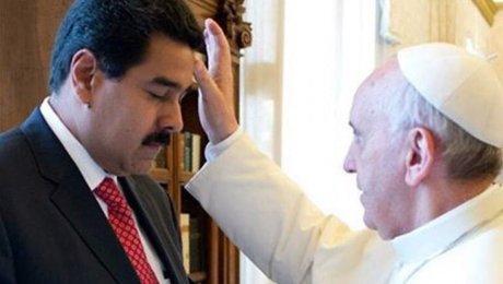 Papa Francisco dispuesto a mediar en Venezuela si lo piden las dos partes. Foto: CNN