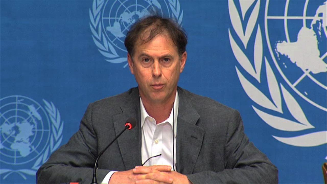 El portavoz de la Oficina de Naciones Unidas para los derechos humanos, Rupert Colville