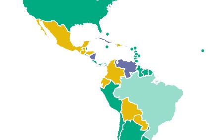 El podio de países no libres del continente lo encabezan Cuba, Venezuela y nuestro país