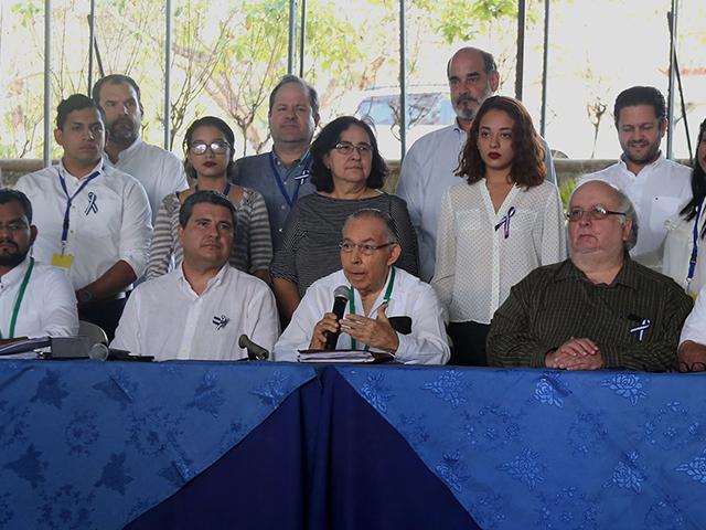 Alianza Cívica condena actos de represión contra manifestantes, gobierno los tilda de provocadores. Foto: Diario Metro