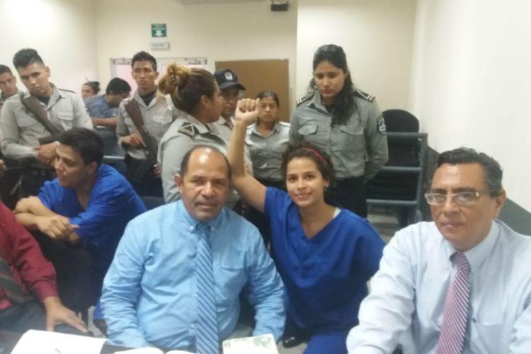 """Amaya Eva Coppens la estudiante de medicina que el gobierno sandinista tilda de """"terrorista"""" . Foto: La Prensa."""