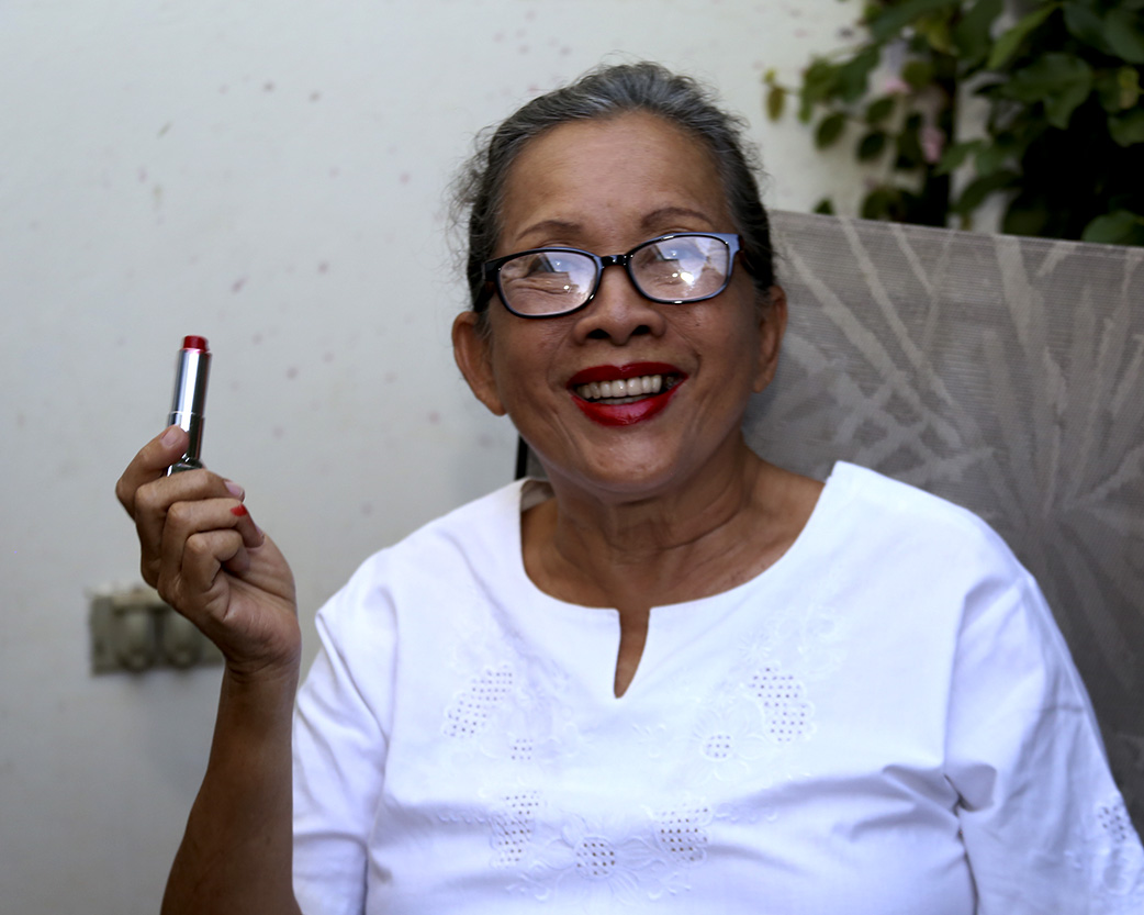 """En conmemoración al Día Internacional de la Mujer retoman campaña del """"pico rojo"""". Foto: Maje"""