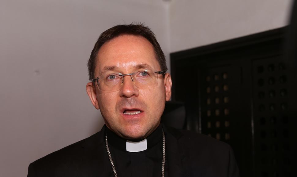 """Nuncio apostólico pidió a los nicaragüenses """"mirar los hechos y no las palabras"""" . Foto: Tomada de internet."""