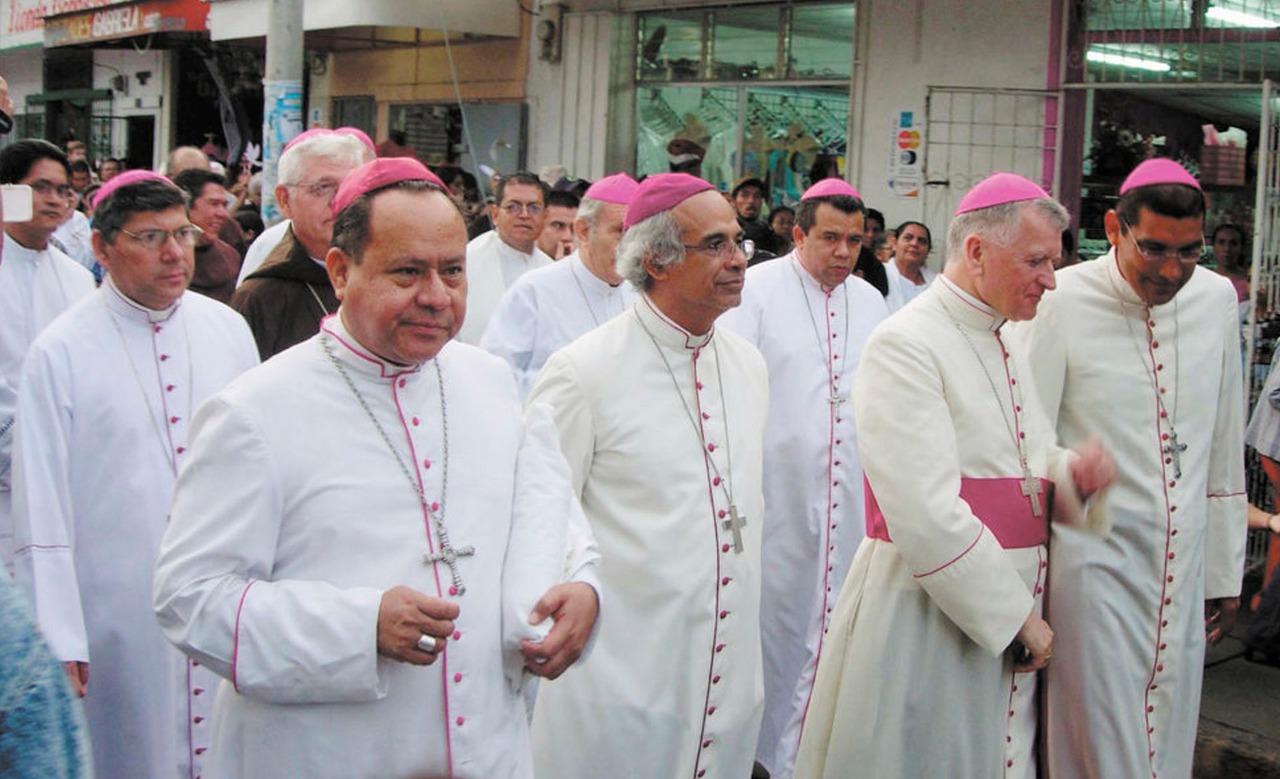 Obispos de Nicaragua. Foto/Cortesía ReligionDigital.com