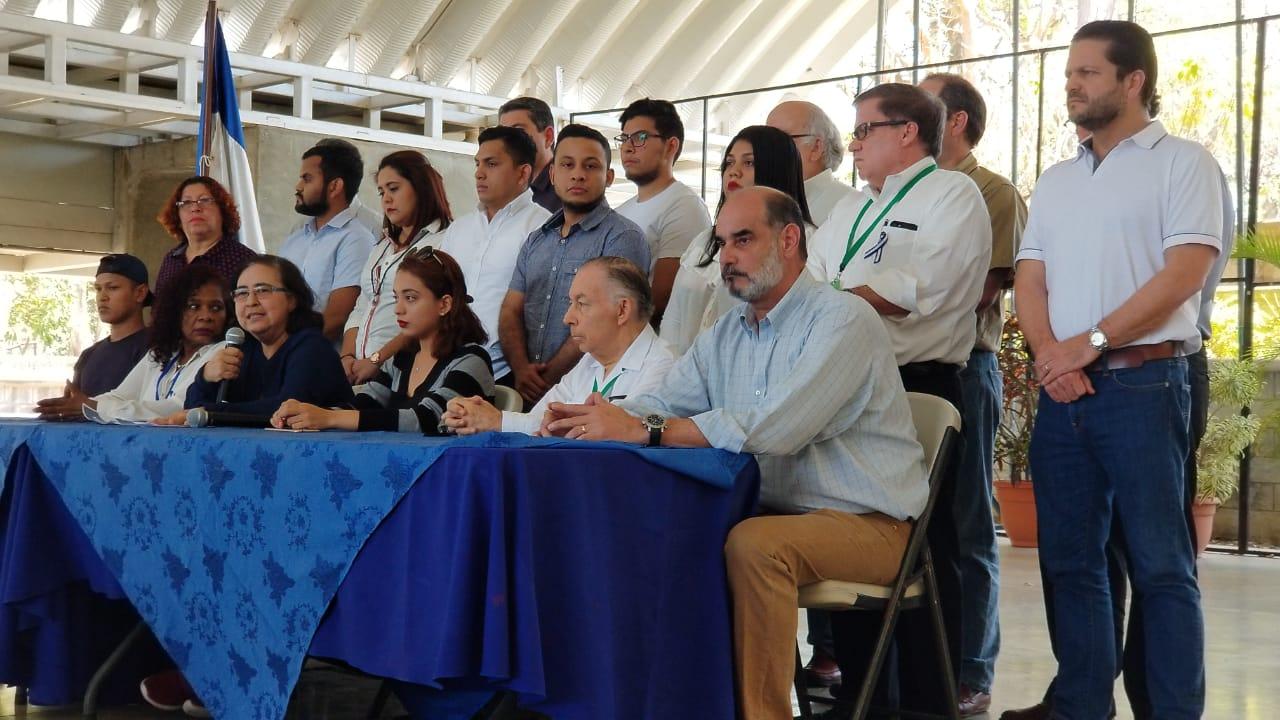 Alianza Cívica presenta su agenda para la mesa de negociación. Foto/Artículo66