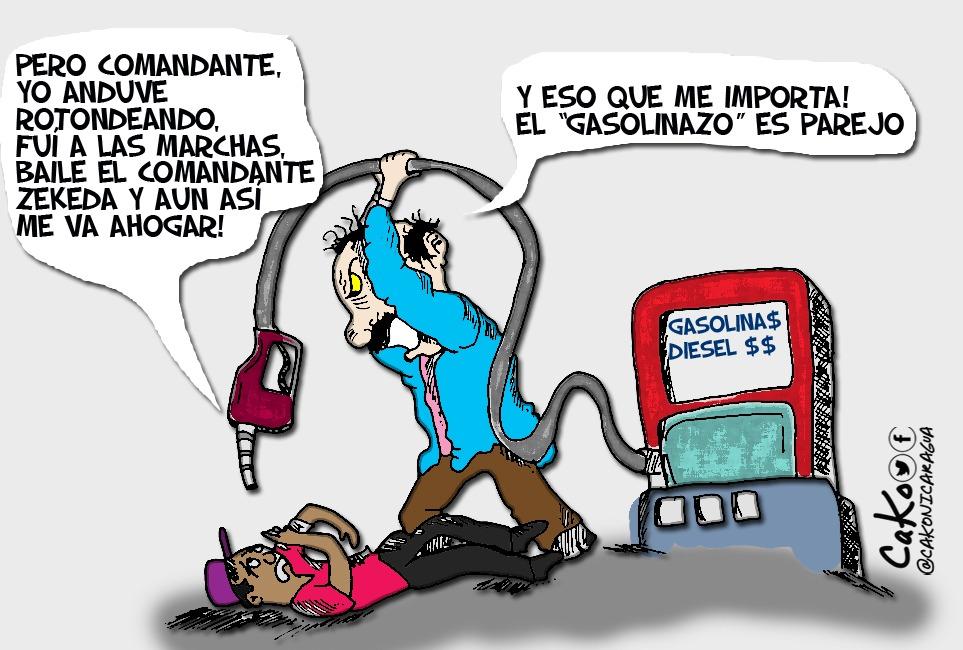 La Caricatura: Los trancazos de Ortega contra los suyos y los ajenos