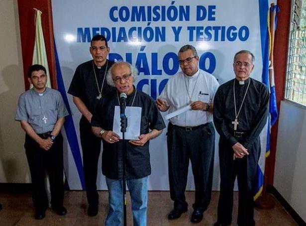 Obispos de Nicaragua condenan nueva represión del régimen contra manifestantes pacíficos. Foto: Agencia de noticias ReligionDigital.com de España