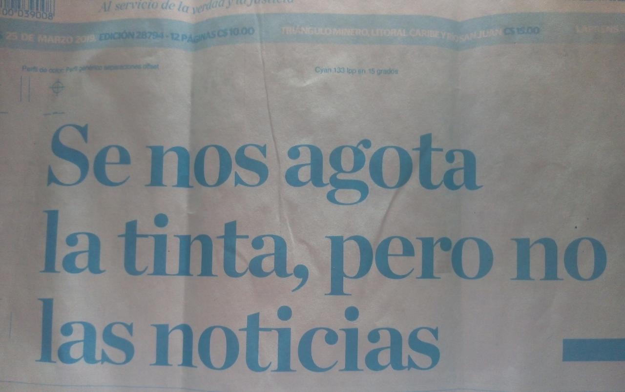 Diplomático estadounidense Michael G. Kozak exhorta a la dictadura a entregar papel y tinta a La Prensa. Foto: Cortesía