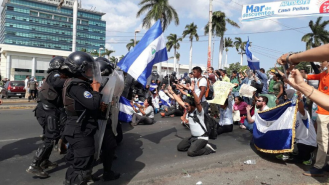 Amnistía Internacional exige a la dictadura cesar los actos represivos en Nicaragua. Foto: Cortesía