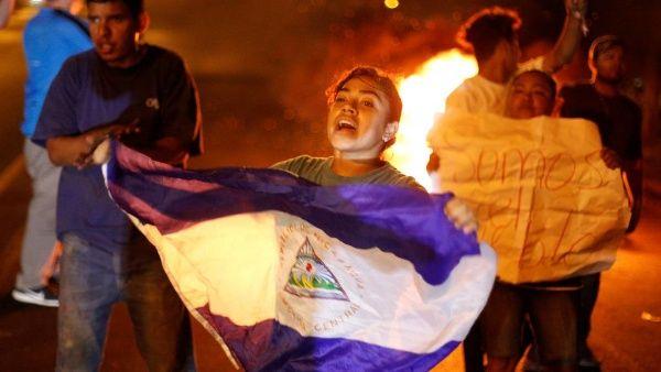 Las mujeres de la resistencia cívica en Nicaragua. Foto: Tomada de internet.