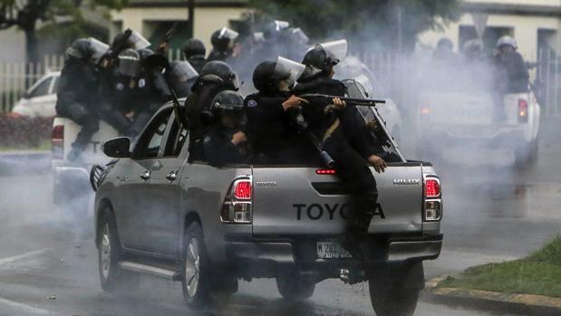 MESENI presenta informe sobre violación a los derechos humanos en Nicaragua . Foto: Cortesía