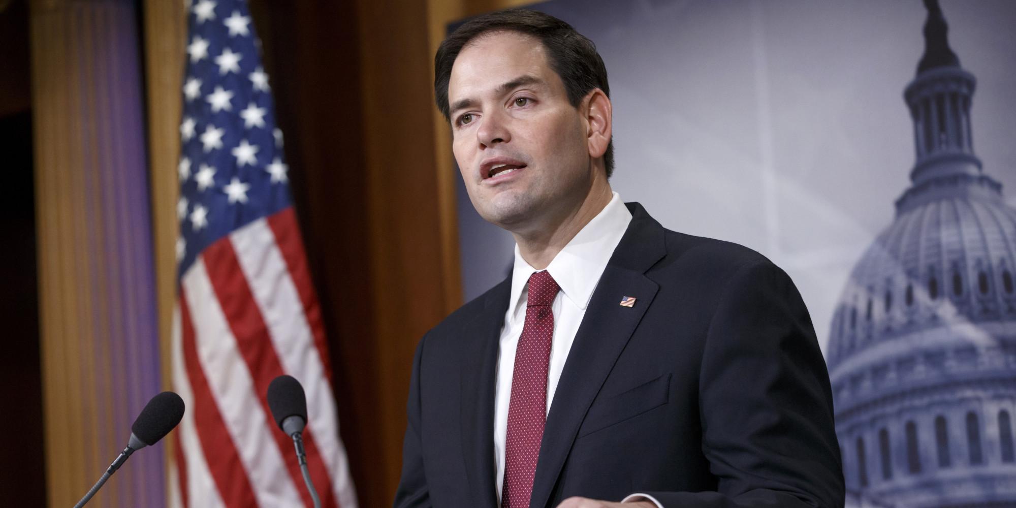Senador Marco Rubio demanda sancionar al régimen de Ortega por caso Cristiana Chamorro. Foto: AP