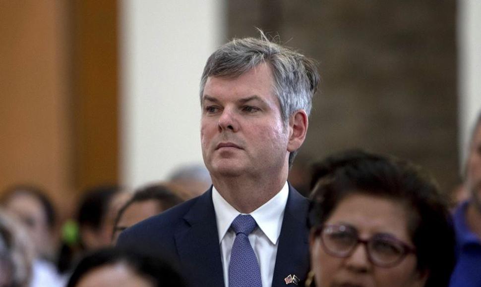 Embajador de Estados Unidos: Los presos políticos deben ser liberados lo antes posible. Foto: END