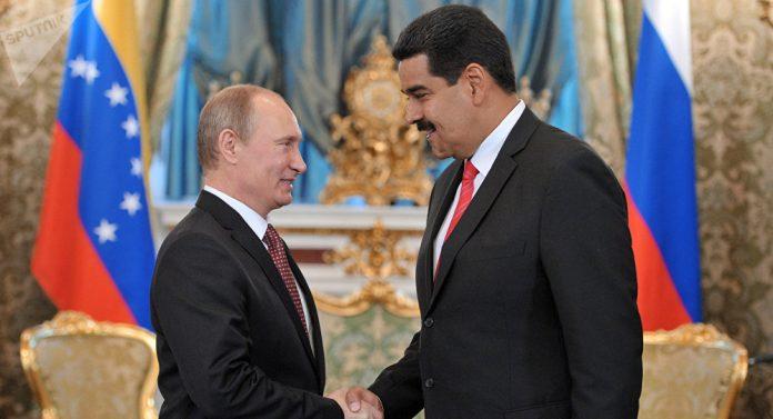 Nicolás Maduro y Vladímir Putin. Foto: Tomada de la web.