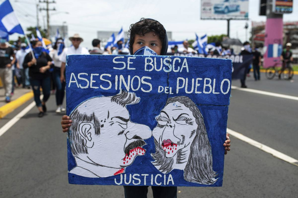 Niñez sin atención a afectaciones y traumas producto de represión estatal. Foto: Tomada de internet.