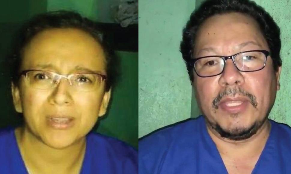 Miguel Mora y Lucía Pineda forman parte de la lista de presos políticos de la dictadura.