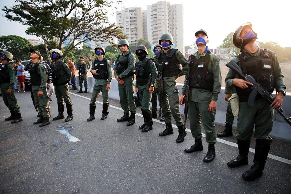 El movimiento anticipó la llamada a las calles que se había anunciado para mañana miércoles primero de mayo. foto: tomada de internet.