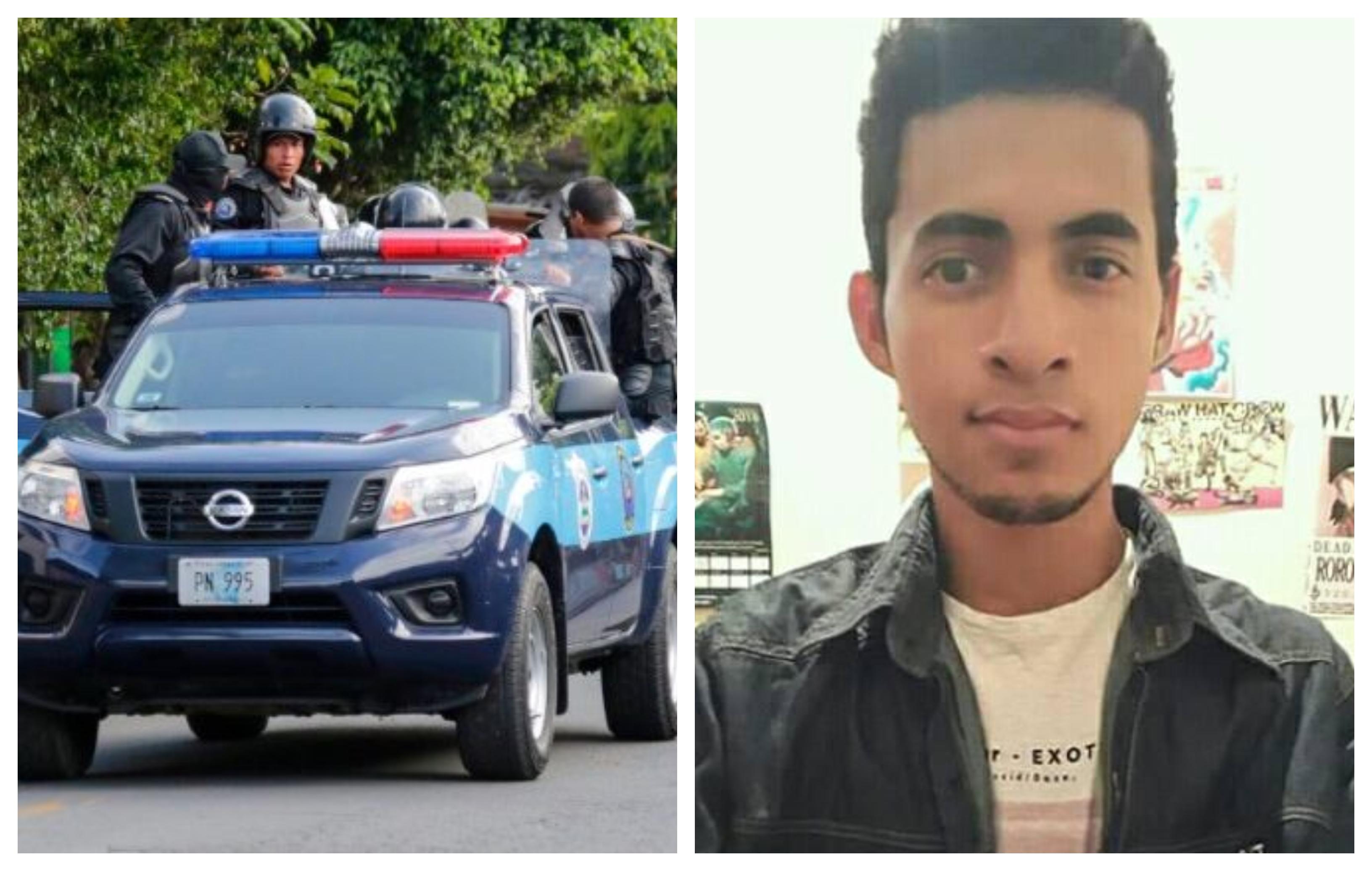 Guardia orteguista secuestra a un par de jóvenes en Managua