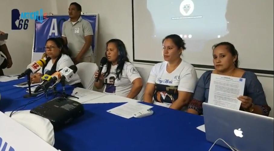 """Madres de abril rechazan con """"Indignación y dolor"""" propuesta de justicia del régimen"""