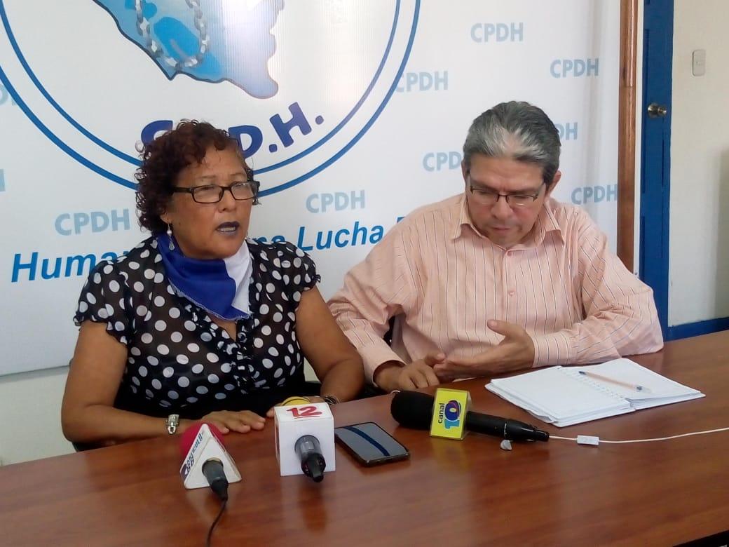 Flor Ramírez denuncia amenazas de muerte y abusos por parte de la guardia orteguista. Foto/Artículo66