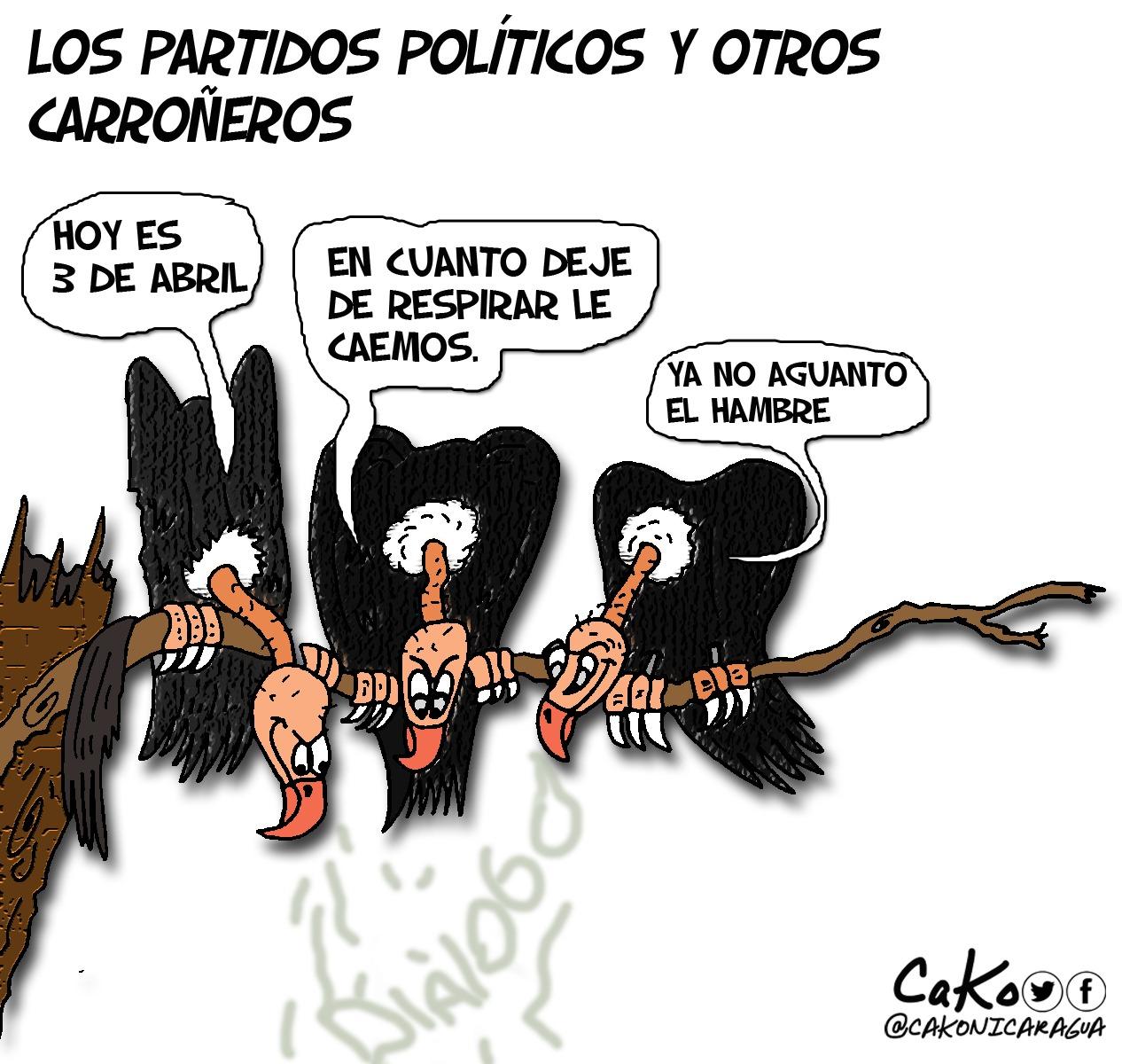 La Caricatura: Aves de rapiña en la mesa