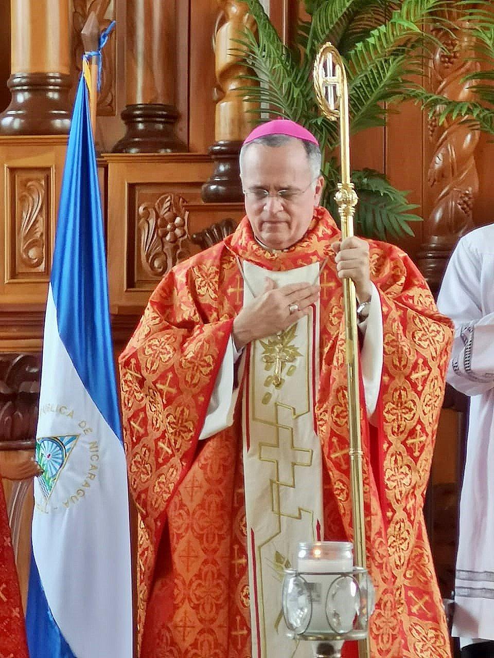 """Monseñor Silvio Báez: """"Este pueblo crucificado resucitará"""". Foto/Cortesía: Radio María Nicaragua"""