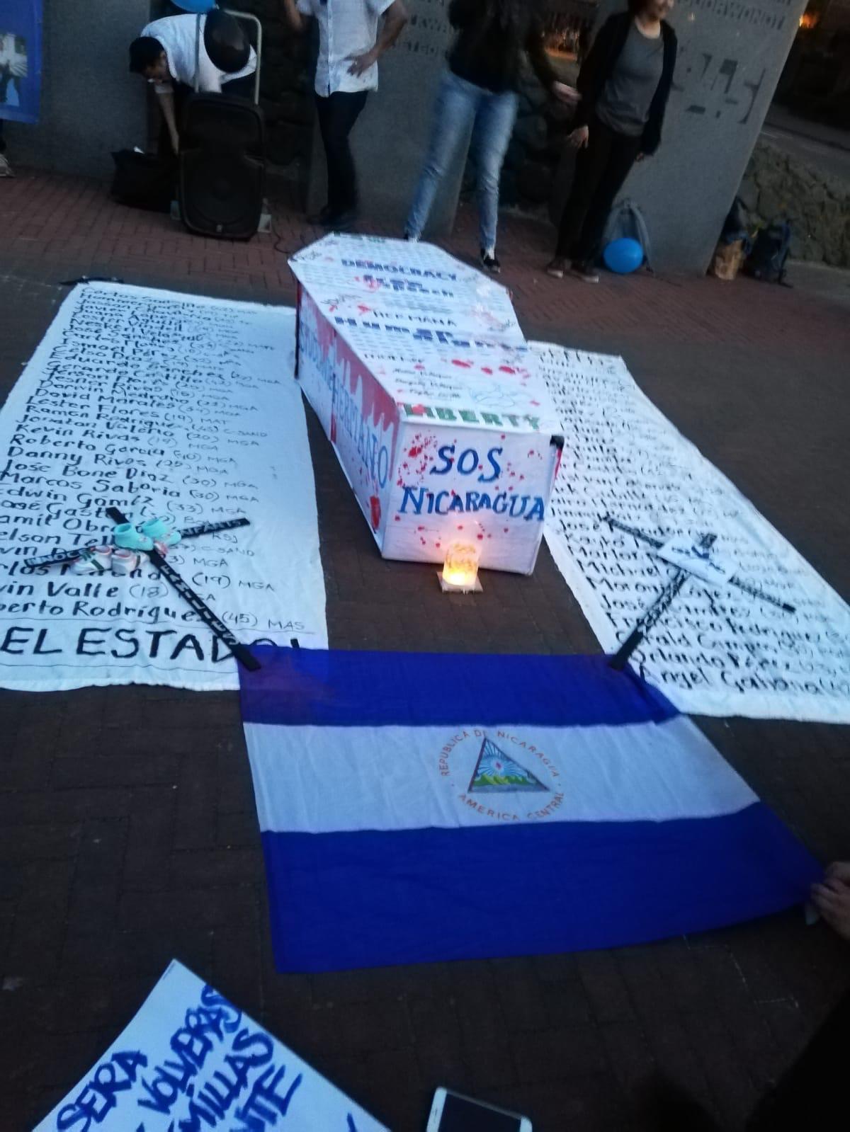 En Holanda rindieron homenaje a los caídos y presos políticos de Nicaragua