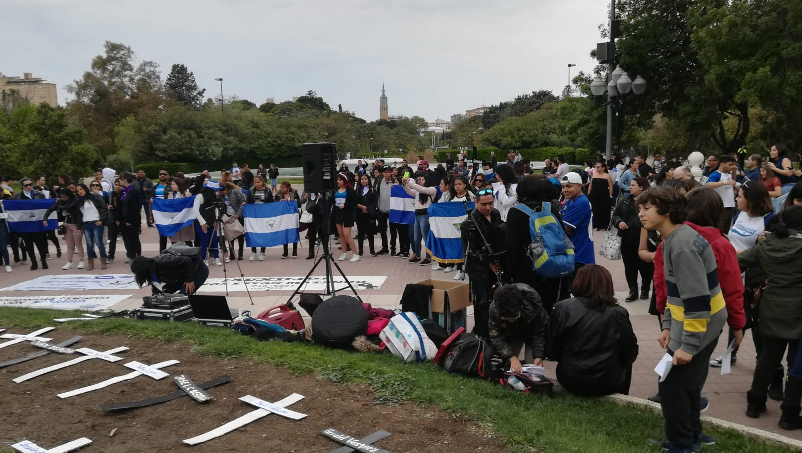 Nicaragüenses en Madrid realizarán misa para conmemorar a víctimas de represión orteguista. Foto: Cortesía