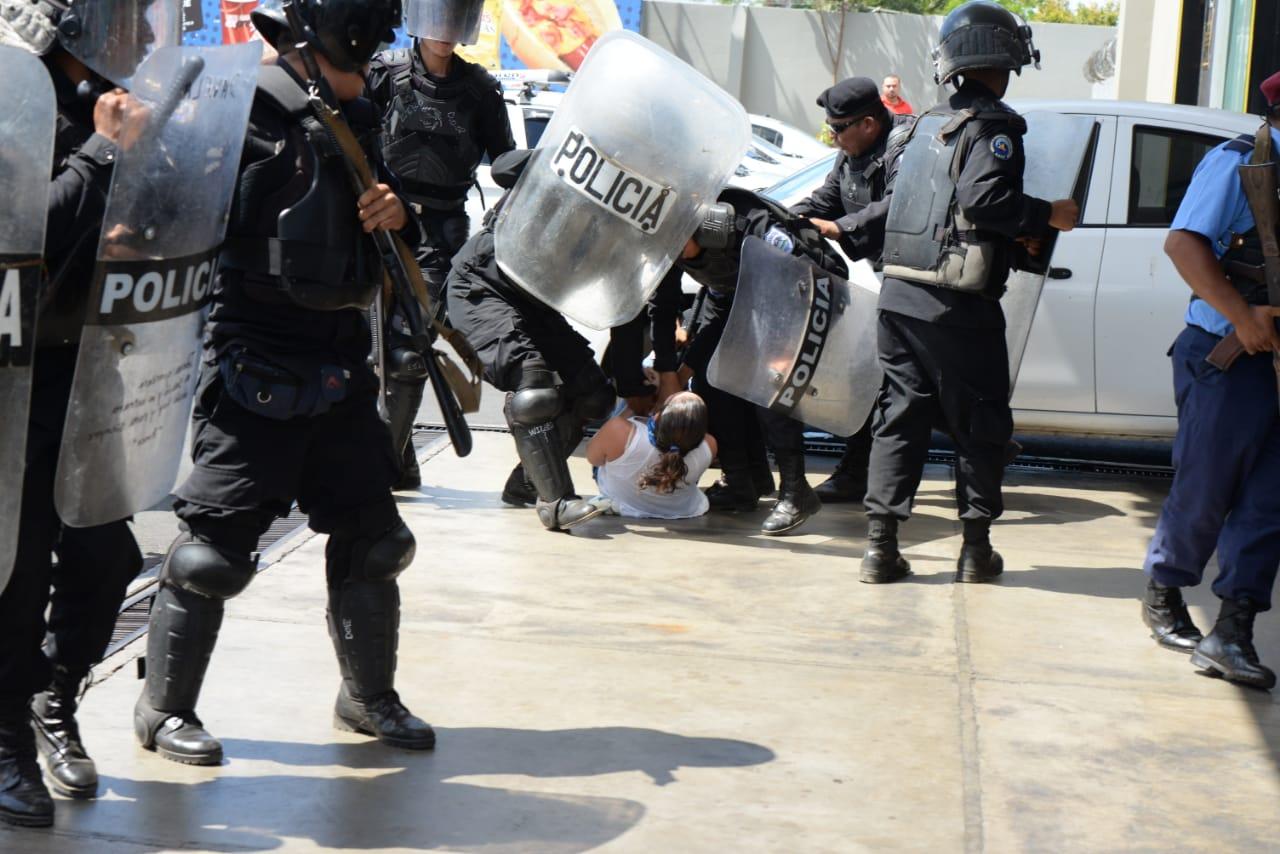 CIDH preocupada por la falta de voluntad del Estado en restablecer los derechos sociales. Foto: La Prensa