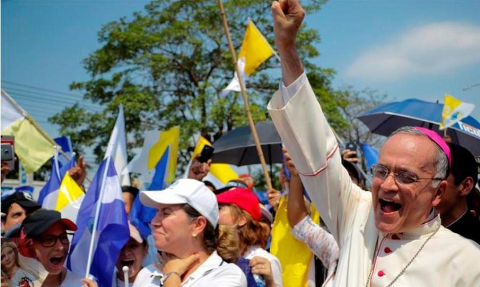 Monseñor Silvio Báez, uno de los obispos más críticos al régimen de Ortega. Foto: Cortesía/END