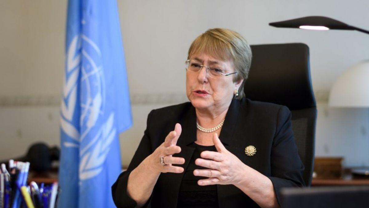 Michelle Bachelet, expresidenta chilena y Alta Comisionada de las Naciones Unidas para los Derechos Humanos. Foto: Tomada de Internet