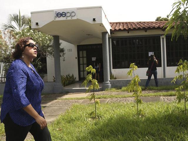 El Instituto de Estudios Estratégicos y Políticas Públicas fue allanado y desmantelado por la dictadura de Ortega. Foto: Metro.