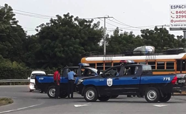 Seis presos políticos de Masaya fueron enviados a casa por cárcel. Foto: Metro