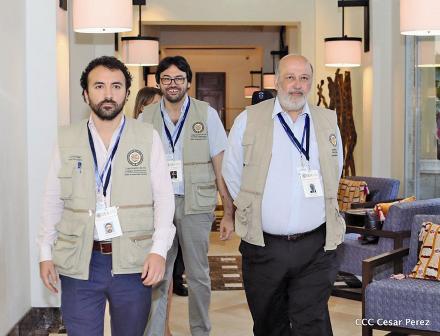 Cristóbal Fernández, especialista en reformas electorales de la OEA. Foto: Bolsa N.