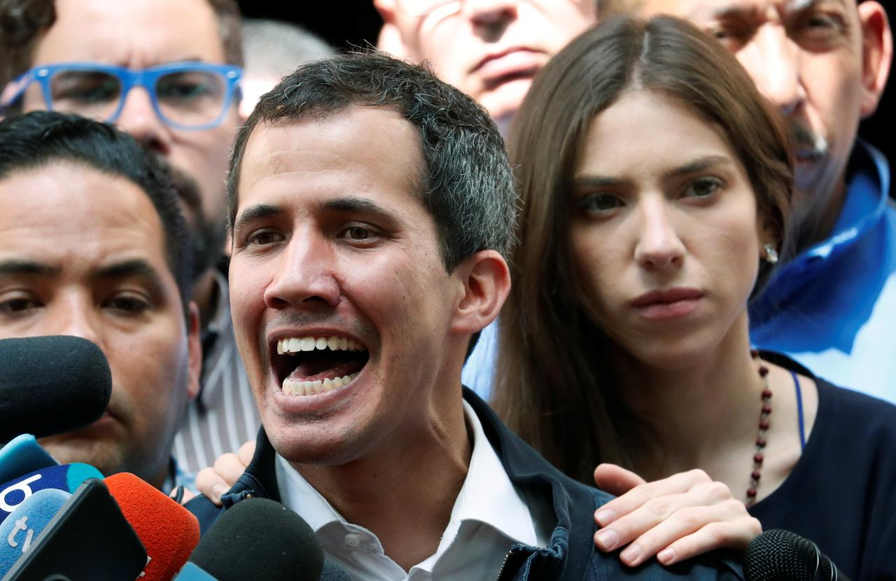 Esposa de Juan Guaidó alerta que la vida de su esposo corre peligro. Foto/Reuters