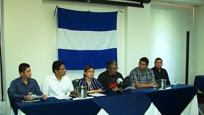 """CODHNN+ """"Rechazamos ley de amnistía"""" Foto: Tomada de Facebook"""