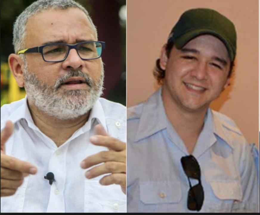 Mauricio Funes y su hijo Diego, señalados de enriquecimiento ilícito en El Salvador. Actualmente, están asilados en Nicaragua por el régimen orteguista.