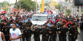 Millonaria escolta para Daniel Ortega y su séquito