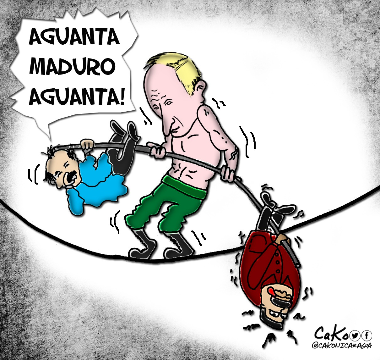 La Caricatura: Putin, el equilibrista
