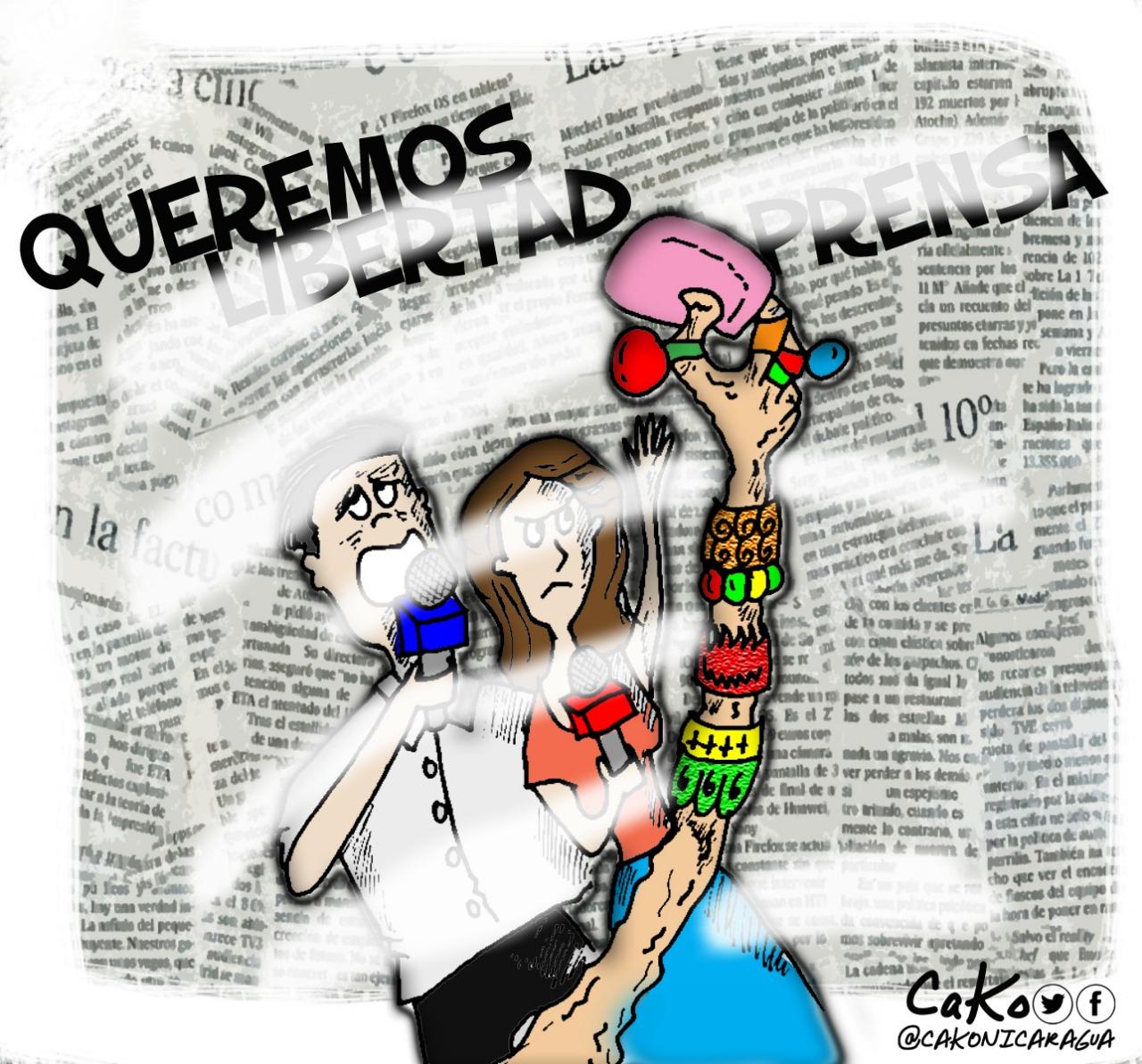 La Caricatura: Por la libertad de prensa, ¡Resistimos!