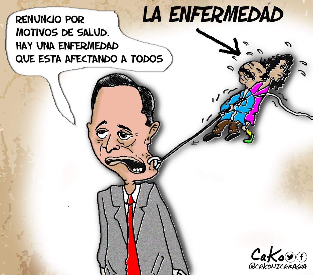 La Caricatura: Las enfermedades de Nicaragua