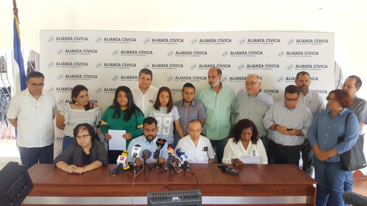 Alianza Cívica pide con urgencia a la OEA la conformación de la Comisión Especial. Foto: Artículo 66