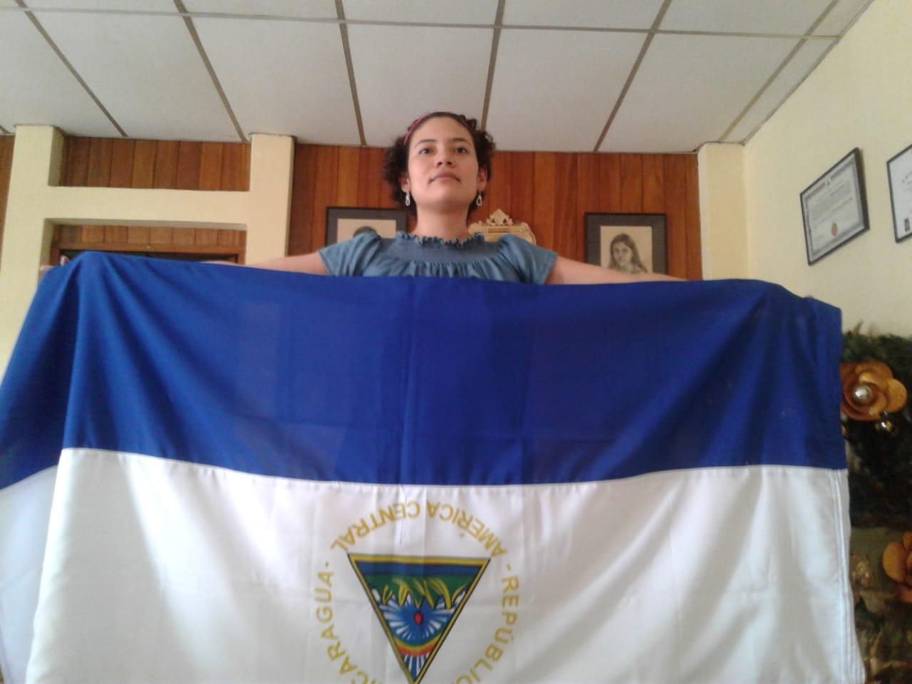 Dictadura amenaza y asedia a la líder del Movimiento 19 de Abril de Masaya,  María Adilia Peralta. Foto: N. Miranda/Artículo 66