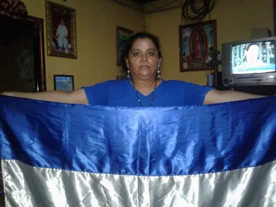 Tania Muñoz, desde su casa en Niquinohomo tras cambiarle su régimen carcelario. Foto: Noel Pérez M./Artículo 66
