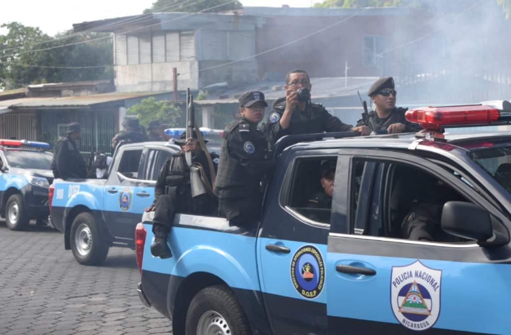 Arranca campaña contra el BCIE por financiar a la Policía orteguista. Foto: Estrategia y Negocios