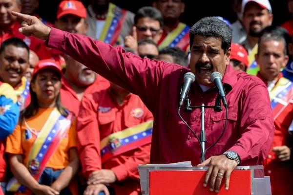 """Nicolás Maduro amenaza con """"meter tras las rejas"""" a los """"traidores"""". Foto: Cortesía"""