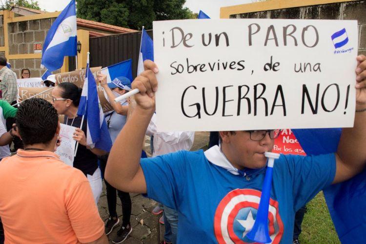 Nicaragua Decide abre consulta para establecer acciones de presión interna sobre la dictadura. Foto: Internet.