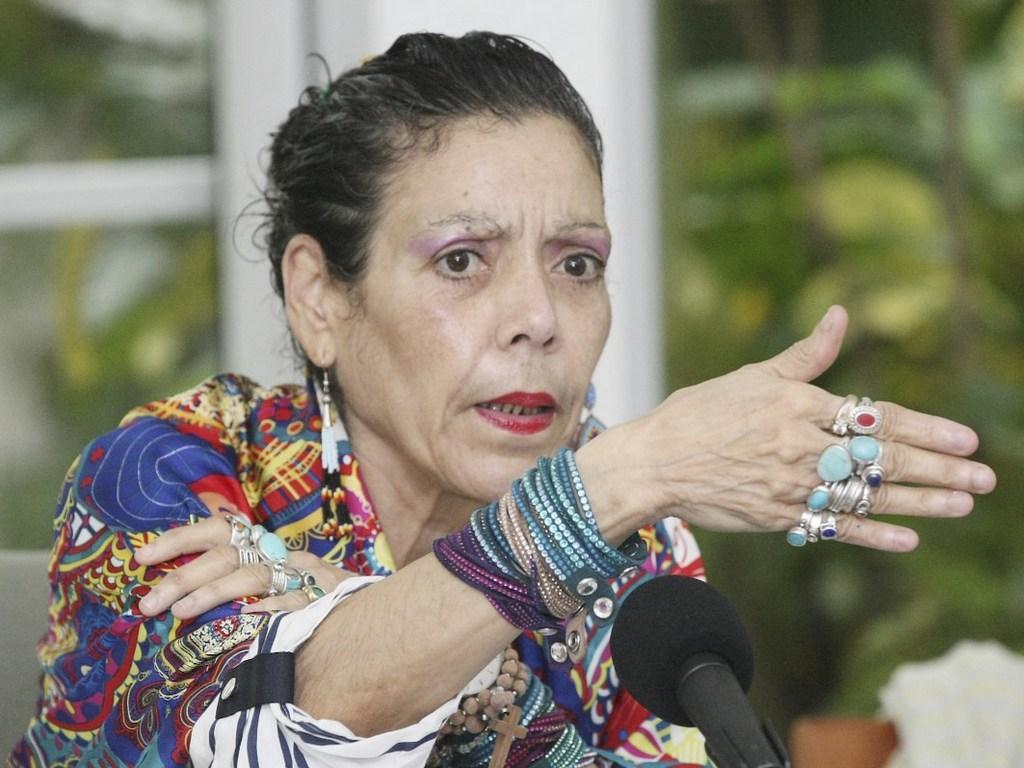 «Ya dejen de joder» el mensaje de Rosario Murillo a la oposición de Nicaragua. Foto: Cortesía