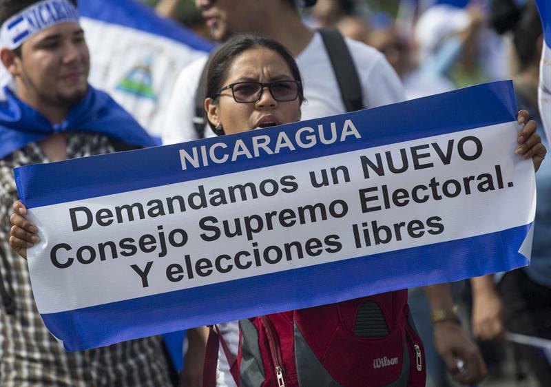 Elecciones en Nicaragua. Foto: La Jornada